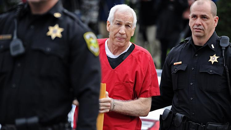 Jerry Sandusky Sentenced In Major Child Molestation Case