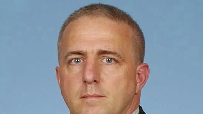 This undated photo provided by the U.S. Army shows  Capt. Bruce Kevin Clark. The family Clark, a Texas-based Army medic serving in Afghanistan, says Clark's wife witnessed the officer's death, which happened Monday, April 30, 2012 as the two were video chatting via Skype. (AP Photo/U.S. Army)