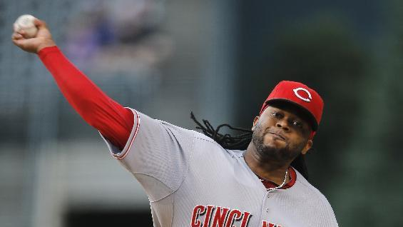 Cueto, Negron lift Reds to 3-2 win over Rockies