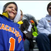 Macalester Football Team Drafts Special 4-Year-Old