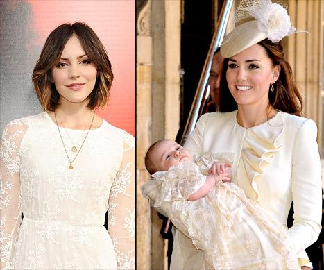 "Katharine McPhee ""Embarrassed"" by Scandal; Prince George's Christening Portraits Revealed: Today's Top Stories"