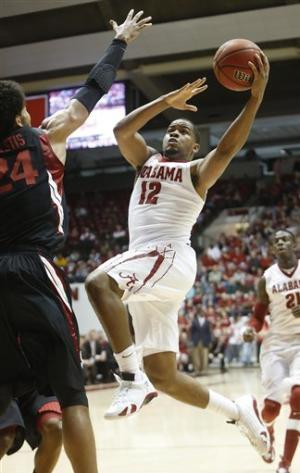 Alabama beats Stanford 66-54 in NIT second round