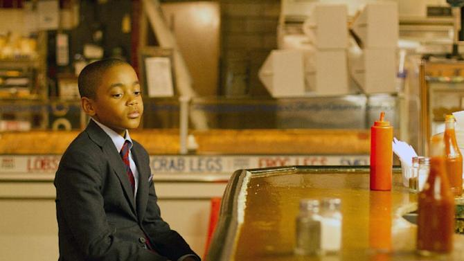 "This film image released by Indomina shows Michael Rainey Jr. in a scene from ""Luv."" (AP Photo/Indomina, Bill Gray)"