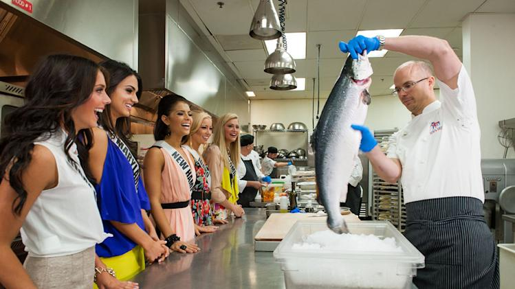 Miss USA 2013, Cooking Demo & Lunch