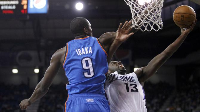 NBA: Oklahoma City Thunder at Sacramento Kings