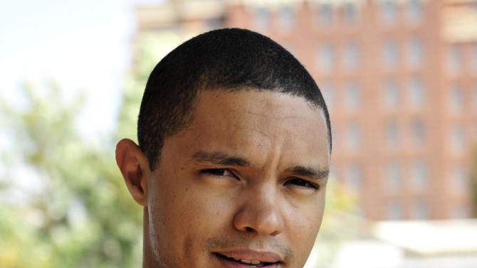 "In this photo taken Oct. 27 2009 South African comedian Trevor Noah is photographed during an interview. Trevor Noah, a 31-year-old comedian from South Africa who has contributed to ""The Daily Show"" a handful of times during the past year, will become Jon Stewart's replacement as host, Comedy Central announced Monday March 30, 2015. Noah was chosen a little more than a month after Stewart unexpectedly announced he was leaving ""The Daily Show"" following 16 years as the show's principal voice. (AP Photo/Bongiwe Mchunu-The Star) SOUTH AFRICA OUT NO SALES NO ARCHIVE"