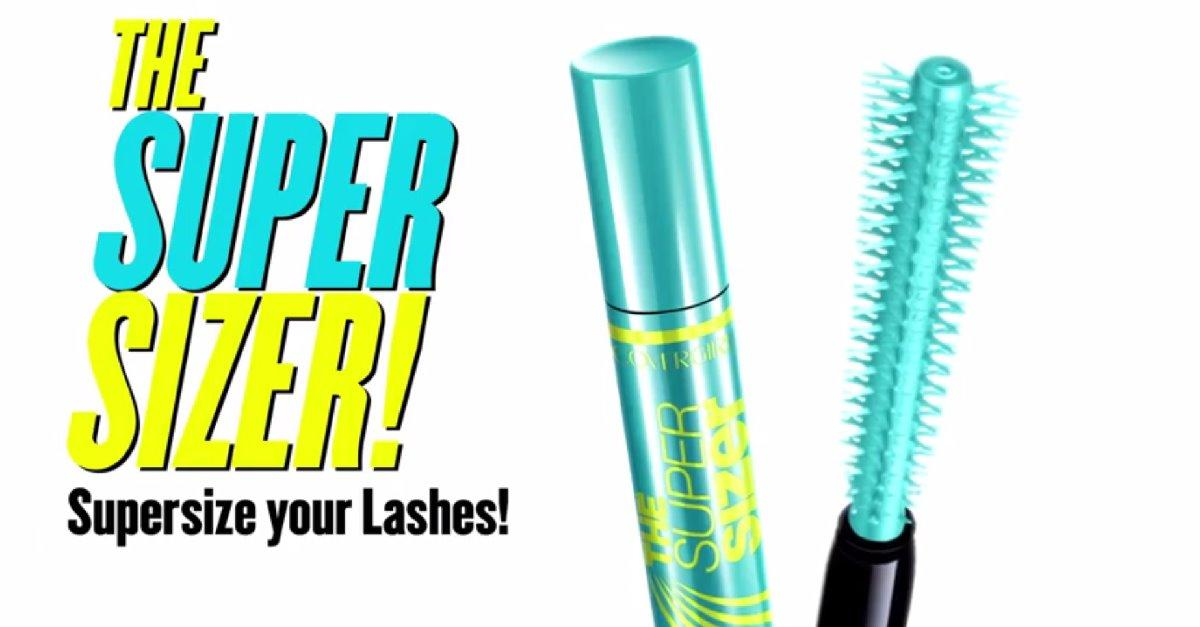 Simply twirl the mascara brush for bigger lashes!