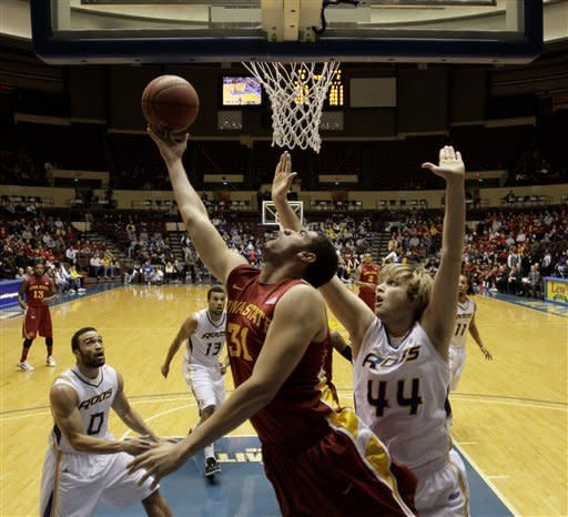 McGee bails out Iowa State in 76-61 win over UMKC