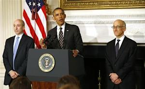 U.S. President Barack Obama nominates Timothy Massad as Chairman of the CFTC at the White House in Washington
