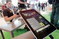 &lt;p&gt;A Nexus 7 tablet is seen here at the Google Developers Conference on June 27, in San Francisco, California. Nexus 7 is Google&#39;s first tablet, utilizing a 7-inch screen and a Tegra 3 quad-core processor.&lt;/p&gt;