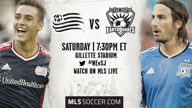 New England Revolution vs. San Jose Earthquakes | MLS Match Preview