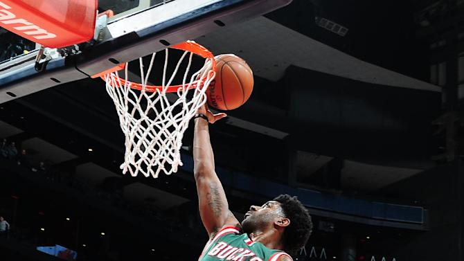 Perfect 10: Dudley doesn't miss, Bucks rout Hawks