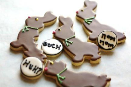 Unfortunate Bunny Cookies