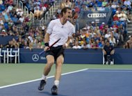 Andy Murray celebrates a point against Marin Cilic during their quarter-final US Open match on September 5. Murray reached a 2nd successive US Open semi-final after Cilic squandered a set and 5-1 lead to lose 3-6, 7-6 (7/4), 6-2, 6-0