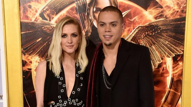 Ashlee Simpson Reportedly Expecting First Child With Evan Ross