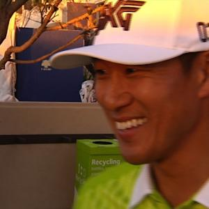 James Hahn interview after Round 2 of Waste Management