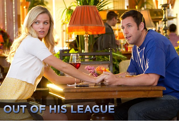 Out of his League title Card 2011