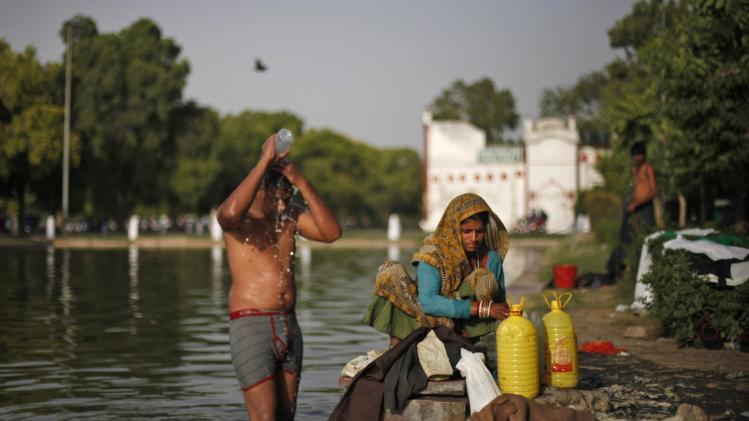 Heat wave causes power outages, anger in India