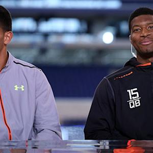 Boomer & Carton: Winston and Mariota will miss NFL Draft