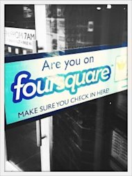 Local Search: 1 in 2 Businesses Have Outdated Online Listings image BusinessFoursquareSticker 225x300