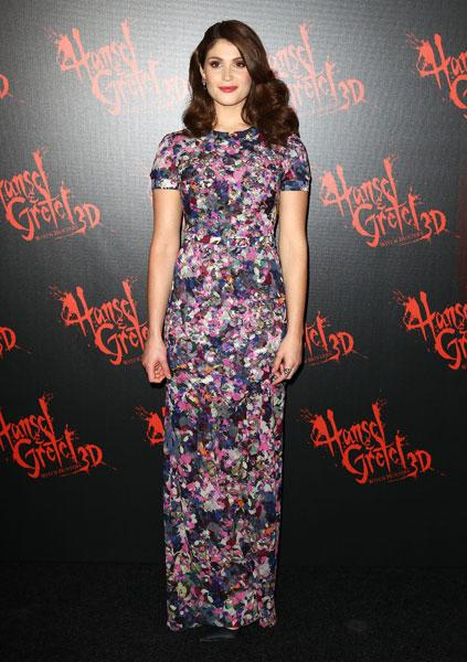 Gemma Arterton Erdem Resort 2013 Hansel & Gretel: Witch Hunters premiere in Sydney Image © Getty