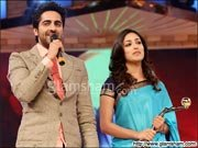 Ayushmann Khurrana, Yami of VICKY DONOR bag Gold Awards