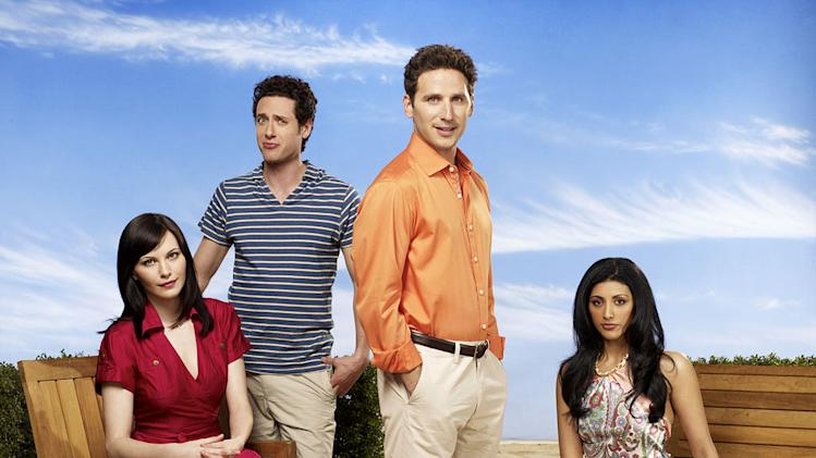 "The cast of ""Royal Pains."""