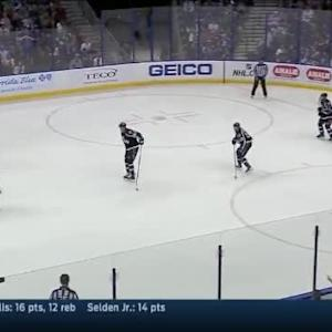 Ben Bishop Save on James Wisniewski (15:12/2nd)