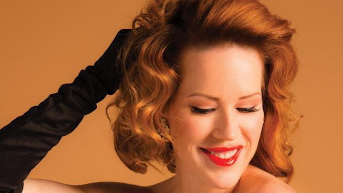"""This CD cover image released by Concord Jazz shows """"Except Sometimes,"""" by Molly Ringwald. (AP Photo/Concord Jazz)"""
