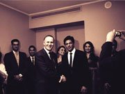 Temptations team Shahrukh, Madhuri, Rani meets New-Zealand Prime Minister