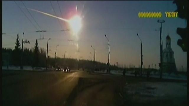 More than 400 injured when meteor crashes down to earth