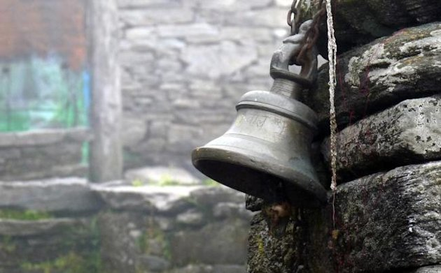 Bell at Tungnath temple