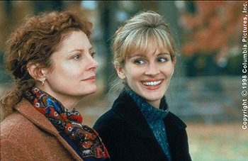Susan Sarandon and Julia Roberts in Stepmom