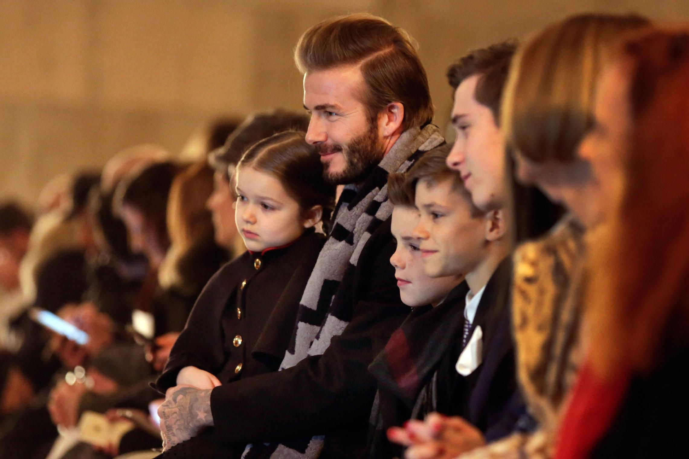 Beckham explores her roots, Banana Republic turns to France