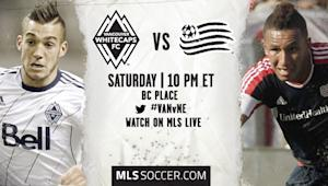 Vancouver Whitecaps vs. New England Revolution | MLS Match Preview