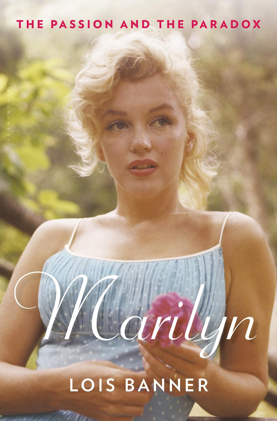 "This book cover image released by Bloomsbury USA shows ""Marilyn: The Passion and the Paradox,"" by Lois Banner. (AP Photo/Bloomsbury USA)"