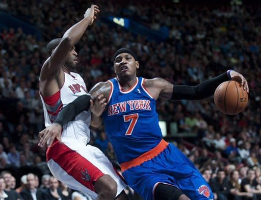 Raptors beat Knicks 107-88 in Montreal
