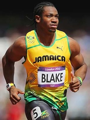 Jamaican sprinter Yohan Blake — Getty Images