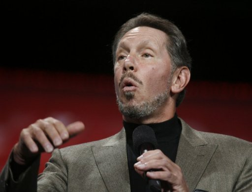 <p>Oracle boss Larry Ellison (pictured in 2011) has bought a Hawaiian island from a fellow multi-billionaire businessman, according to the governor of the US Pacific Ocean state.</p>