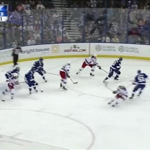Ben Bishop Save on Carl Hagelin (06:50/1st)