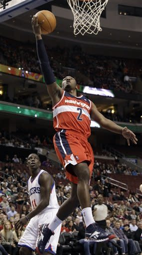 76ers crush hapless Wizards 120-89