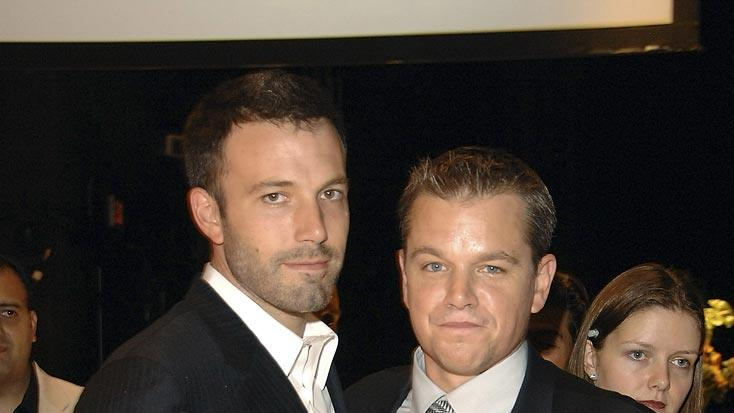 Ben Affleck Matt Damon 2007