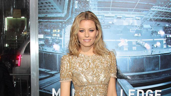 Man on a Ledge LA Premiere, Elizabeth Banks