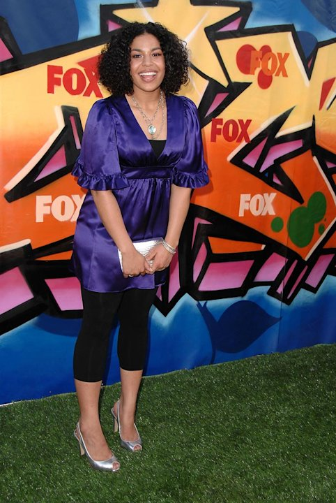 Jordin Sparks arrives to the 2007 Teen Choice Awards.