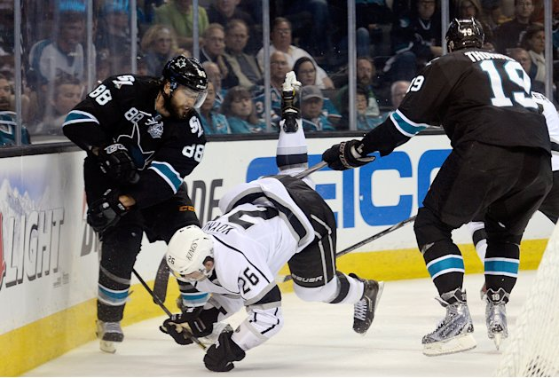 Los Angeles Kings v San Jose Sharks - Game Three