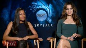 'Skyfall's' Naomie Harris, Berenice Marlohe on the Secret to Scenes of Seduction (Video)