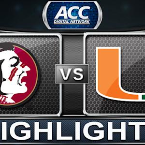 Florida State vs Miami | 2014 ACC Women's Basketball Tournament