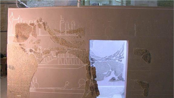 Fit for a King: Largest Egyptian Sarcophagus Identified