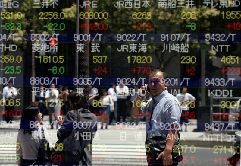 Asia stocks bounce, bonds benefit from the unknown