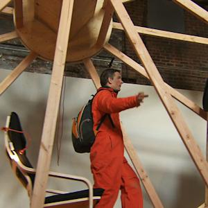 Brooklyn artists spend 10 days living on a wheel